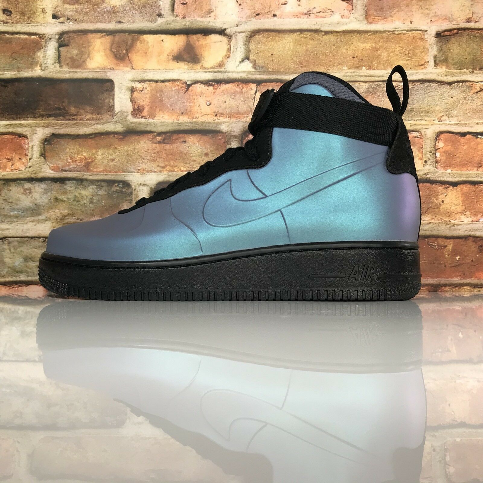 Nike Air Force 1 Foamposite Cup Mens 11 Light Carbon Black Shoes Msrp Price reduction Special limited time