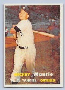 1957-MICKEY-MANTLE-Topps-034-REPRINT-034-Baseball-Card-95-NEW-YORK-YANKEES