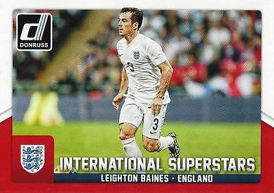 Superstars Chase Card #25 Leighton Baines DONRUSS Soccer 2015 int
