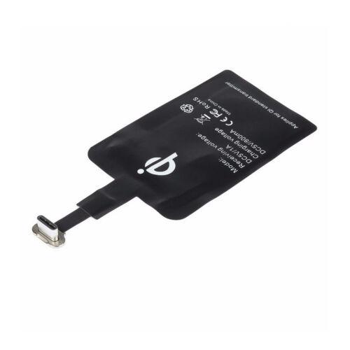 USB tipo C qi Wireless destinatario para umidigi f1 play adaptador cargador Charger