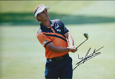 Joost LUITEN SIGNED Autograph 12x8 Photo AFTAL COA TPC Sawgrass The Players GOLF