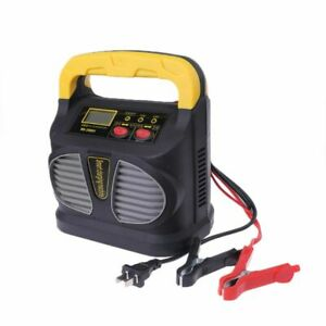 Details About Portable 12v 24v Intelligent High Power Battery Charger Car Jump Starter