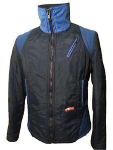 Herren-Ski-Jacke-Vintage-Made-By-Luhta-In-Finnland-Gr-S-M-Blau-60er-70er-80er