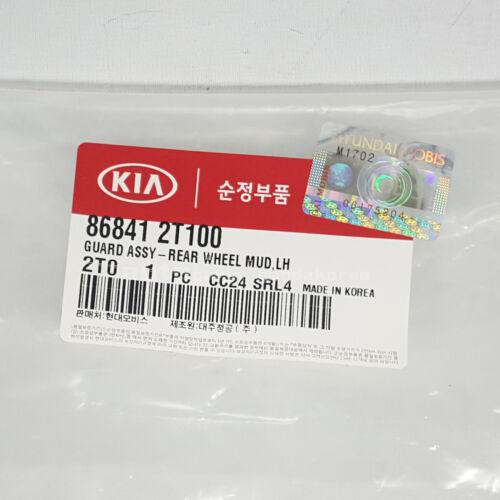 Genuine 868412T100 Rear Mud Guards Flaps Cover Left LH Kia Optima 2011-2013