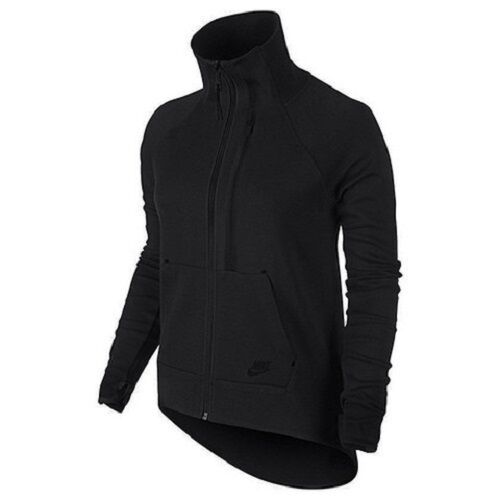 56cd7eb54ec4 Nike Tech Fleece Moto Women s Cape Sz. Small 642688 Black S for sale online