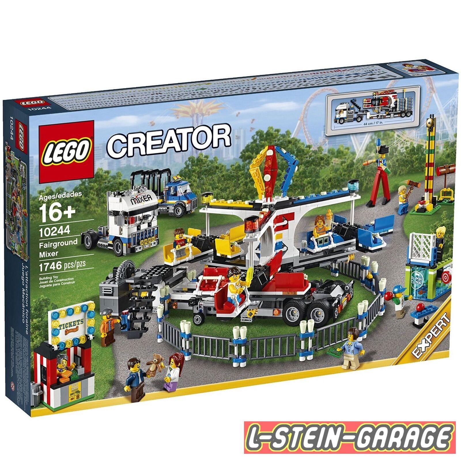 LEGO® CREATOR EXPERT 10244 Jahrmarkt-Fahrgeschäft NEU & OVP