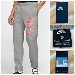 Adolescente Gimnasta cable  Nike SB Icono Polar De Chándal Pantalones de skate gris CI5848-063 Tamaño  Mediano | eBay