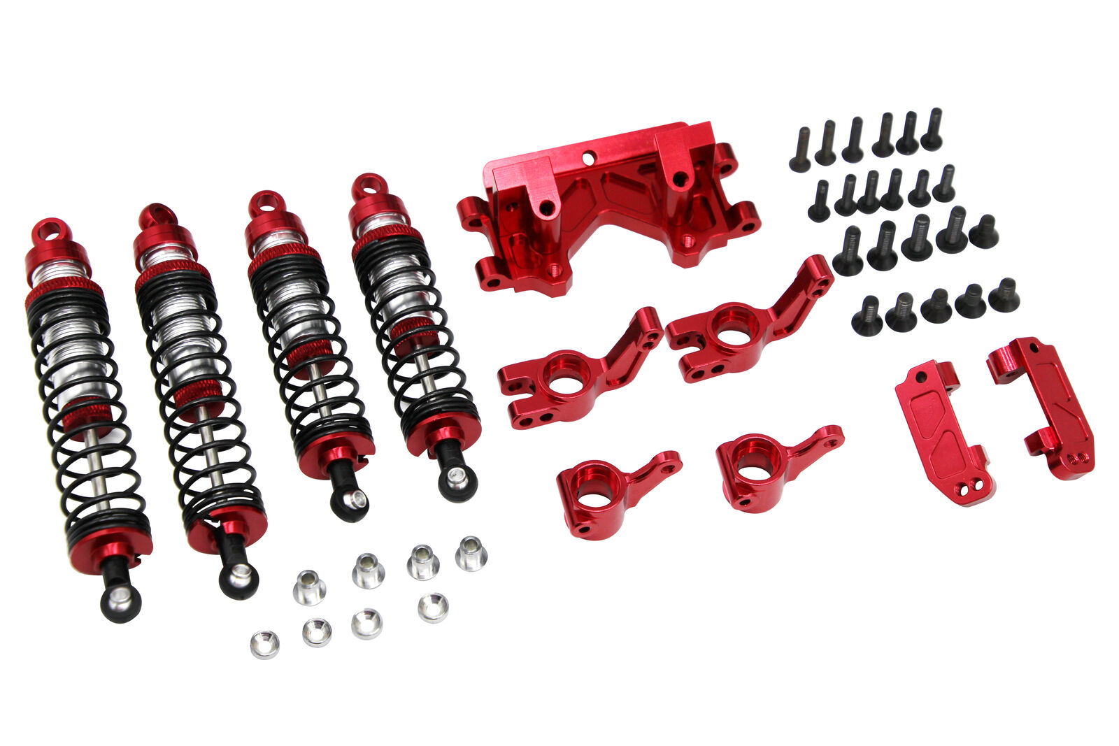 X Spede XPTE929P02 rosso Suspension Tuning Hop up Set Traxxas 1/10 2WD