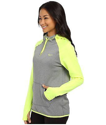 NWT Women/'s Nike All-Time PO Workout Bold Swoosj Hoodie 066 ChGrn