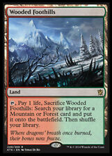 Wooded Foothills x1 Magic the Gathering 1x Khans of Tarkir mtg card