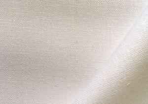 White 32 count Zweigart Belfast Linen fabric 100 x 70 cm