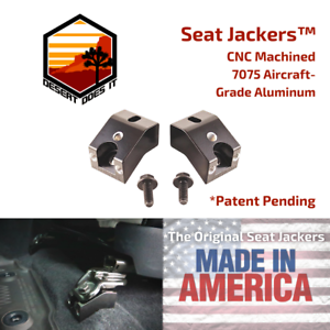 Original Seat Jackers -2005-2022 Toyota Tacoma Front Seat Jackers - Seat Spacers