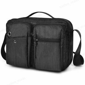 OSOCE-Sling-Bag-Backpack-Waterproof-Shoulder-Chest-Crossbody-Bag-Black-Blue-CA