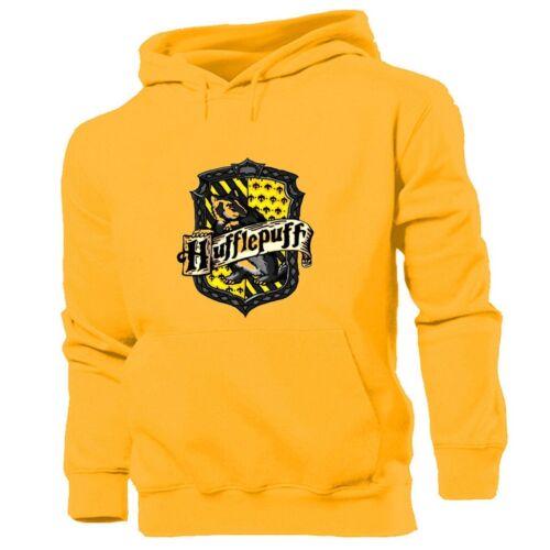 Harry Potter Hogwarts hufflepuf Print Sweatshirt Unisex Hoodies Graphic Hoody