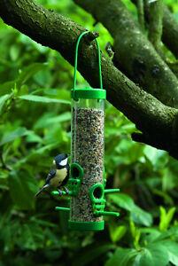 Vogelfutterstation-25cm-Vogelfutterspender-Vogel-Futterspender-Neu