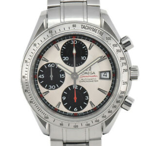 Auth-Omega-Speedmaster-Date-3211-31-Chronometer-Automatic-Men-039-s-Watch-B-91594
