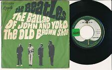 "THE BEATLES 45 TOURS 7"" FRANCE THE BALLAD OF JOHN AND YOKO"