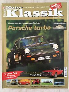 Gehorsam Motor Klassik 1/99 Porsche 911 Turbo Renault 16 Bentley Triumph Stag Mg Midget Automobilia