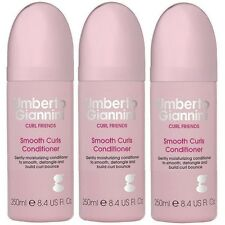 3 x 75ml Umberto Giannini Curl Friends Smooth Curls Conditioner Mini Travel Size