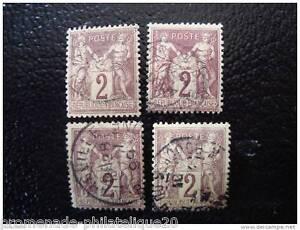 FRANCE-timbre-stamp-yt-n-85-x4-obl-K