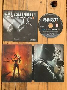 Call Of Duty Black Ops 2 ( édition steelbook )  - PS3 - Complet - Jeu Fr