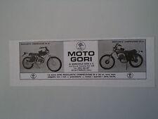 advertising Pubblicità 1974 MOTO GORI REGOLARITA' COMPETIZIONE 50/125
