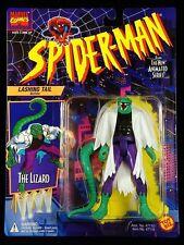 "1994 TOY BIZ MARVEL SPIDER-MAN (ANIMATED) LIZARD (BLACK SHIRT) 5"" FIGURE MOC"