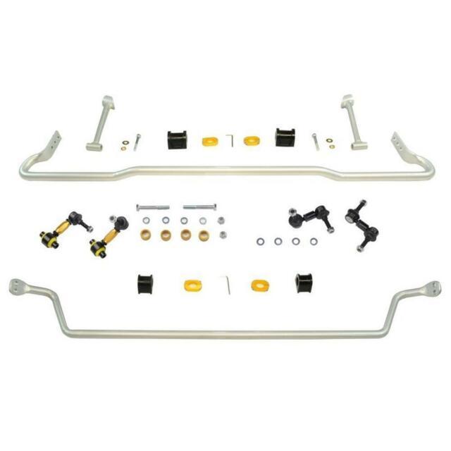 Whiteline Front And Rear Sway Bar Kit for 2012-14 Subaru WRX