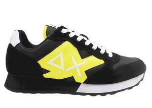 Scarpe da per uomo SUN 68 JAKI Z31110 sneakers basse casual sportive comode nero