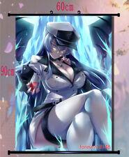 Hot Anime Akame Ga Kill Esdeath Queen Home Decor Poster Wall Scroll 60*40CM U3