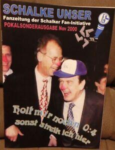 FC Schalke 04-FC St. Pauli Schalke notre & la übersteiger numéro spécial/528