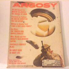 Argosy Magazine Modern Dillinger & His Arsenal September 1962 052217nonrh