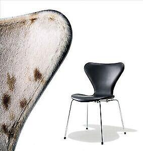 Arne Jacobsen svanen NY FARVE I ELEGANCE