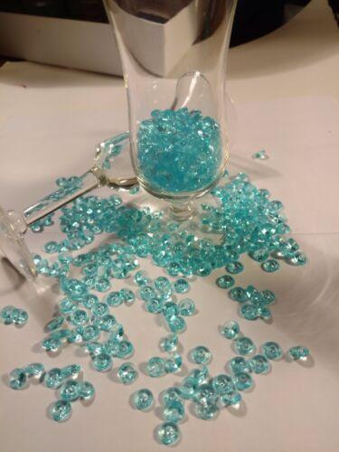 Beautiful 200 PCS 8mm Sea Blue Diamond Shape Vase Filler