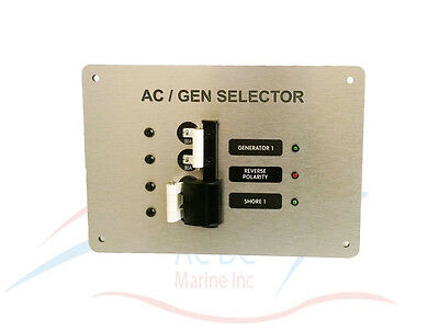 ** 30a Ac / Gen Quelle Selektor Breakers Panel Sparen Sie 50-70%