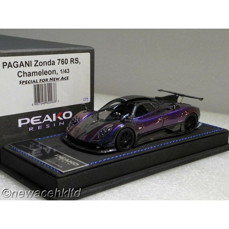 PAGANI Zonda 760 RS Chameleon Special for Nuovo Ace PEAKO MODEL 1/43  760RS