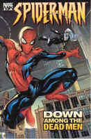 Spider-man Vol 1: Down Among The Dead Men By Millar & Dodson 2004 Tp Marvel