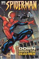 Spider-man Vol 1: Down Among The Dead Men By Millar & Dodson 2004 Tp Marvel
