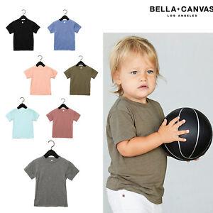Bella-Canvas-Nino-Triblend-T-Shirt-3413T-Ninos-Polialgodon-Manga-Corta-Camiseta
