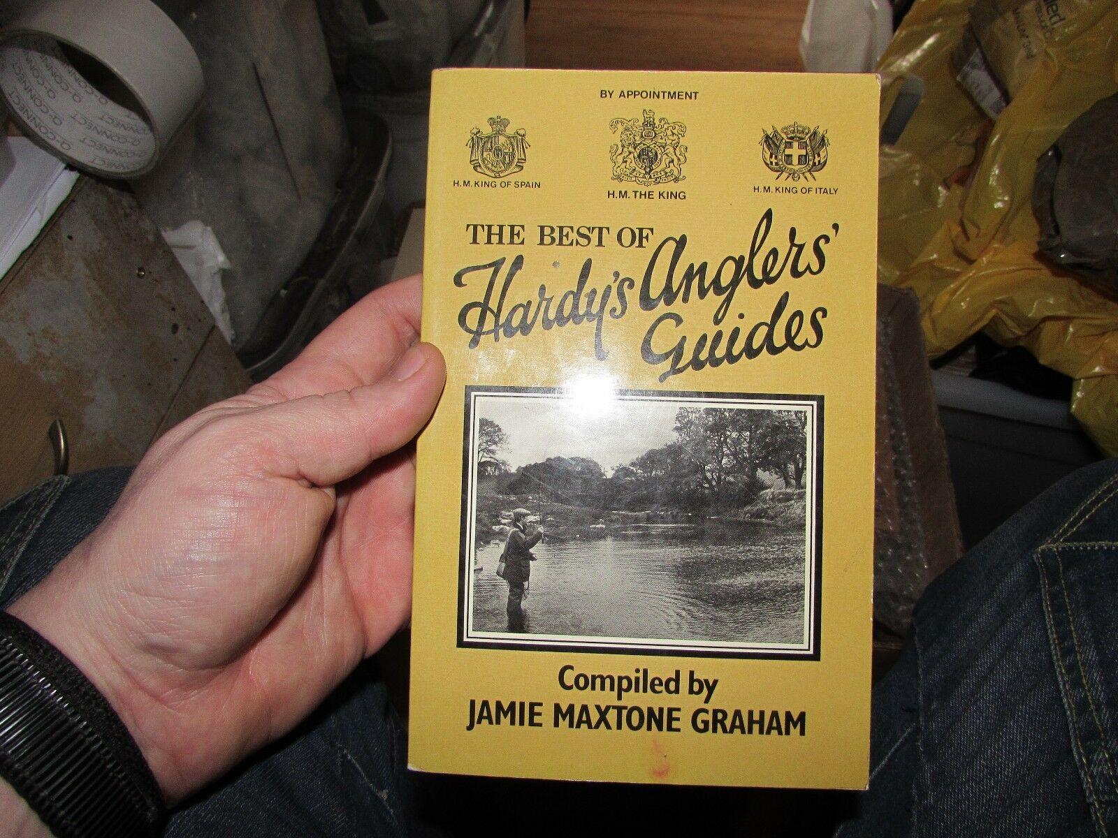 Best of Hardys anglers guides jamie maxtone graham vintage rod reel lures book .