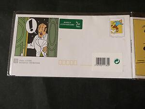Timbre Poste Carte Joyeux Anniversaire Herge Tintin Et Milou Courent 1999 Ebay