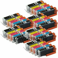 Ink Cartridges for Canon Pixma Pgi-250xl Cli-251xl Mg5420 Mg5520 Mx722 Mx922 - Pack of 30