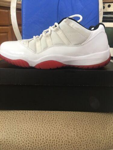 Cherry 101 11 Retro Jordan Sz Og Air 12 528895 White Xi Varsity Nike 886551877595 Low Red q47znHwwW