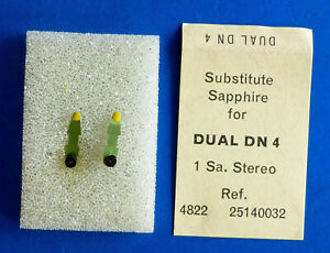 2-Stueck-2-pieces-DUAL-DN-4-Saphir-Abtastnadeln