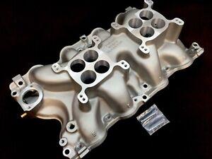 Blue Thunder Ford 385 429 460 Dual Quad Intake Manifold