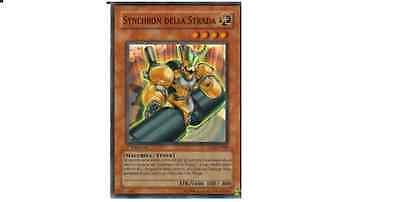 SYNCHRON DELLA STRADA Super Rara in Italiano 5DS2-IT006 YUGIOH