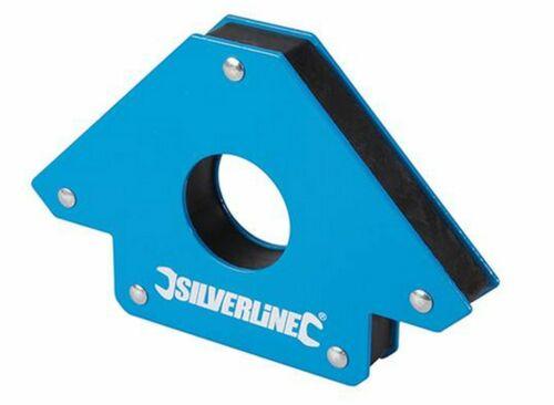 Soudure magnétique 20 kg capacité de charge bleu 125 mm