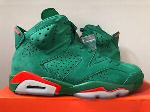 94beabfe3f6 Air Jordan Retro 6 Gatorade Green Orange AJ5986-335 Size 10.5 100 ...