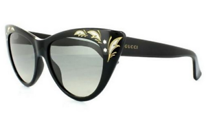 be60f427a0a Image is loading GUCCI-GG-3806-S-Women-Sunglasses-Black-Gold-