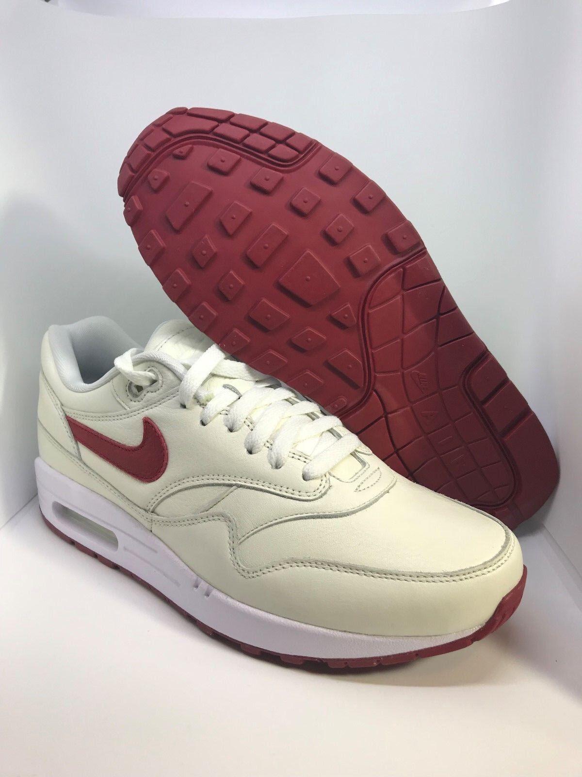Nike iD Air Max 1 Mens Shoes Alabama Crimson Tides Colorway Size 9.5